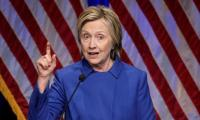 Clinton urges renewed 'fight for values'