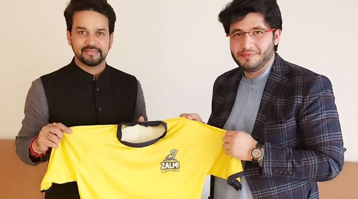 Zalmi owner hopes to play matches against IPL teams, meets BCCI president