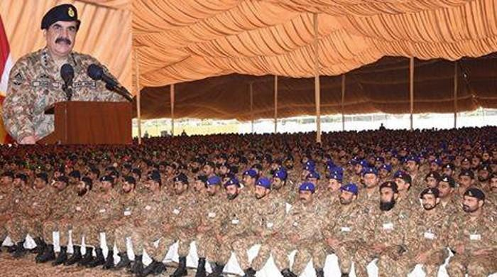 COAS visits Okara Garrison, lauds performance of troops