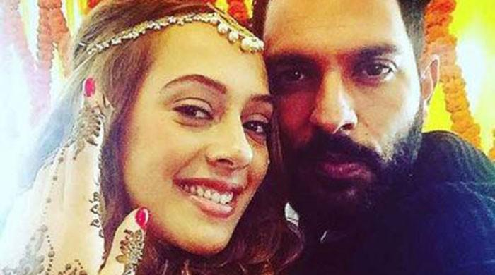 Yuvraj Singh and Hazel Keech tie the knot