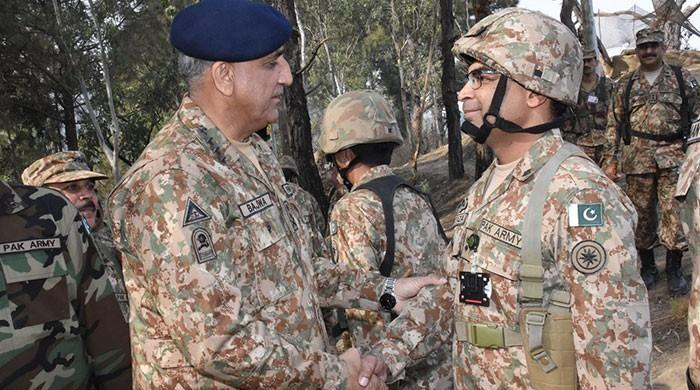 Respond to violations with full force, COAS tells troops at LoC