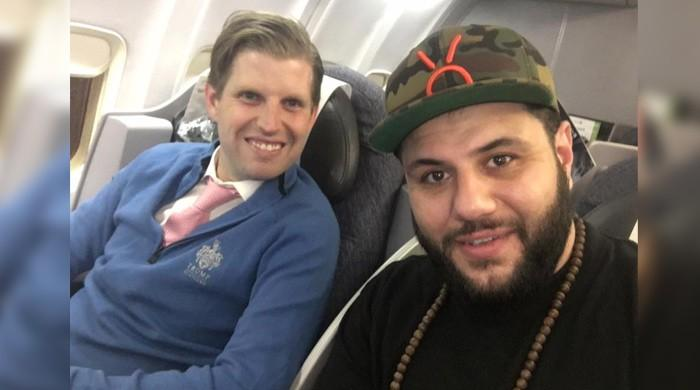 A Muslim comedian sits next to Trump's son, has a 'good, decent conversation'