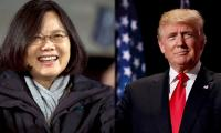 Trump speaks with Taiwan leader, risking Chinese anger