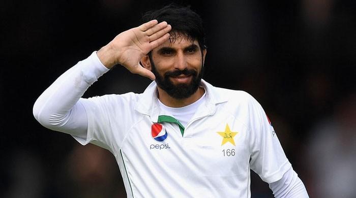 Captain Misbah joins Pakistan team in Australia