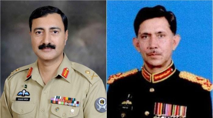 Lt Gen Shahid Baig Mirza instated as Corps Commander Karachi