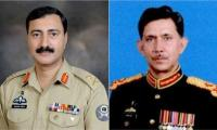 Lt Gen Shahid Baig Mirza instated as Corps Commander Karachi