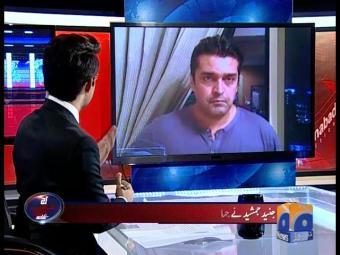 آج شاہ زیب خانزادہ کے ساتھ:   جنید جمشید،فخر عالم کی یادوں کے جھروکے