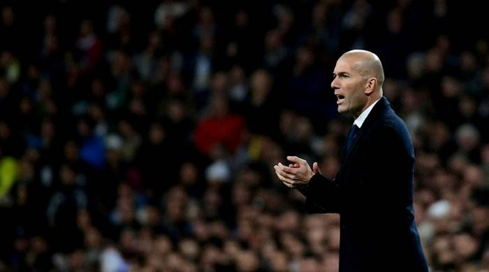 Real eye record back where it began for Zidane