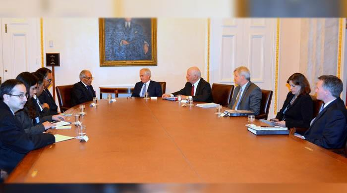 Fatemi briefs US Senate Foreign Relations Committee