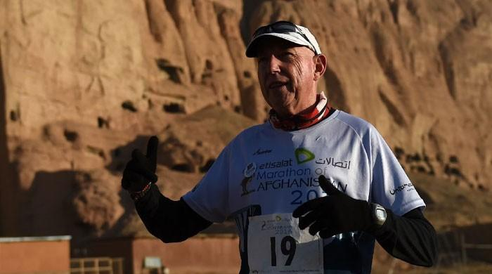 Canada's 'Marathon Man' defies all odds to achieve Afghan ambition