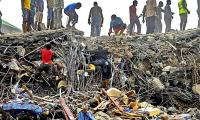 At least 160 killed by church roof collapse in Nigeria: official