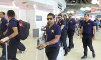 Pakistan cricket team arrives in Brisbane ahead of Australia Test