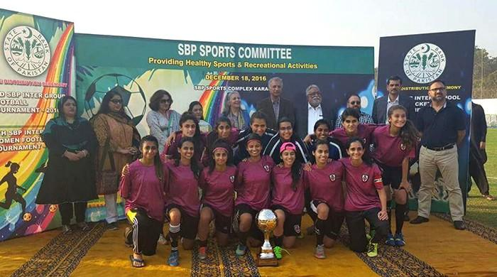 Karachi United reclaims State Bank Women's Football Championship