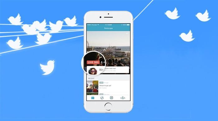 Go behind the scenes now with Twitter's Live 360 Video