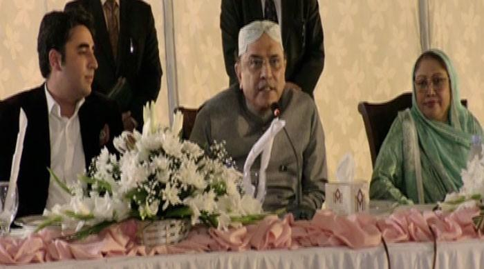 Zardari says will join Parliament for defending people's rights