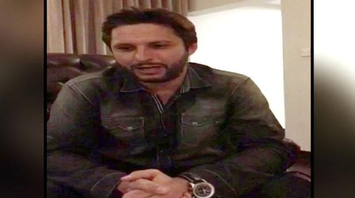 Afridi's New Year message – a step towards politics?