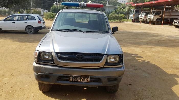 Interior Ministry recovers FC vehicle from Senator Qayyoom Soomro