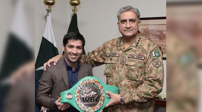 COAS praises boxer Muhammad Waseem for his achievements