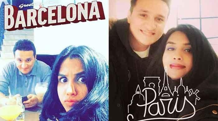 Pakistani girl finally gets holiday with hubby after honeymooning alone