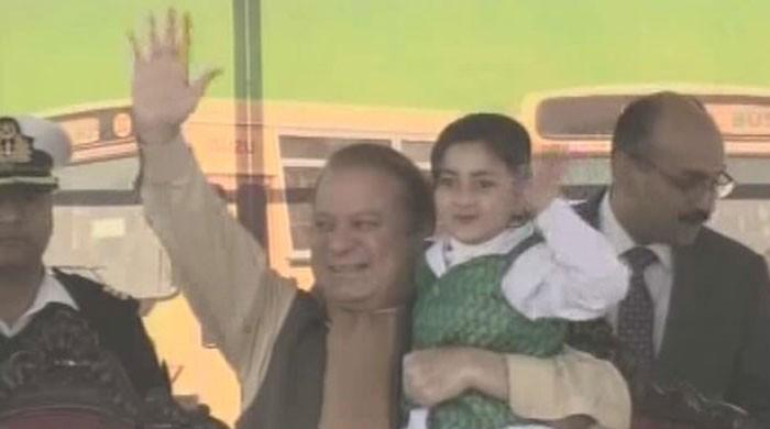 PM hands over 200 buses to schools in Islamabad