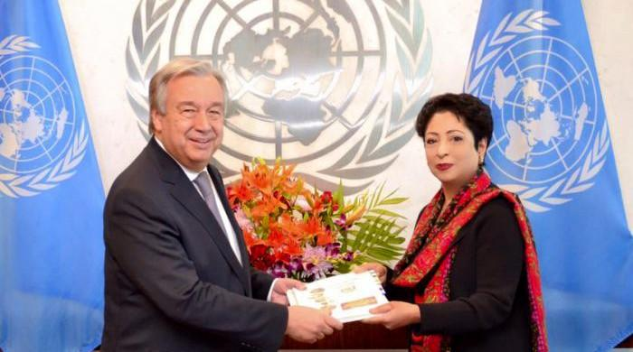 Pakistan briefs UN Secretary-General on Kashmir