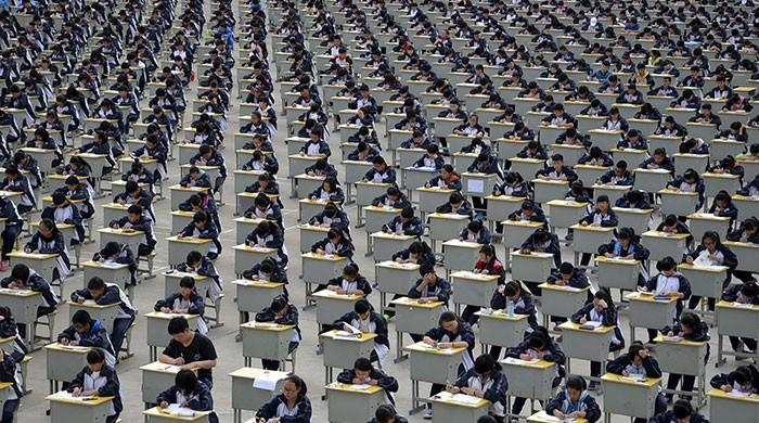 Chinese school sets up 'grade bank' to pass tests