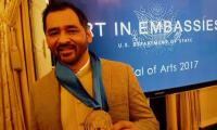 Pakistani artist becomes first to receive Medal of Arts by US State Dept