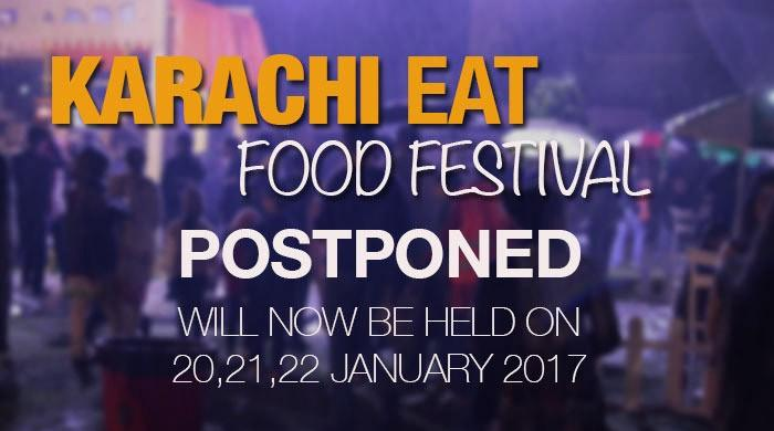 Karachi Eat festival postponed until Friday