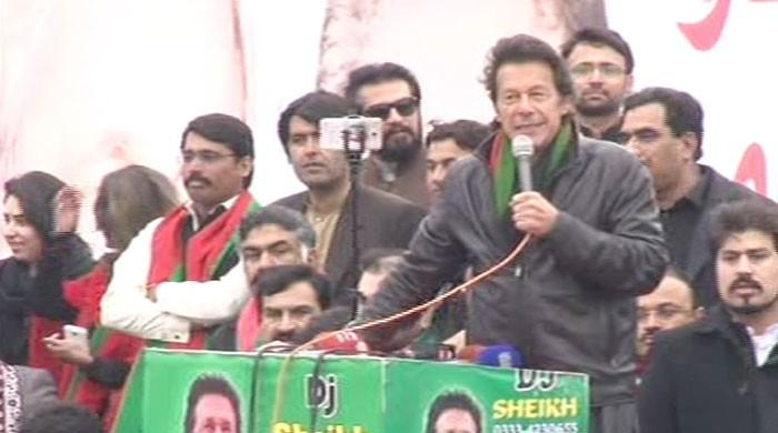 People fed up with 'Takht-e-Lahore', says Imran Khan