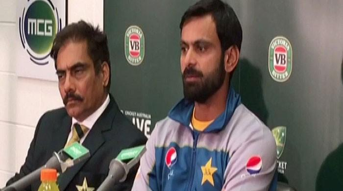 Hafeez lauds players' response after defeat