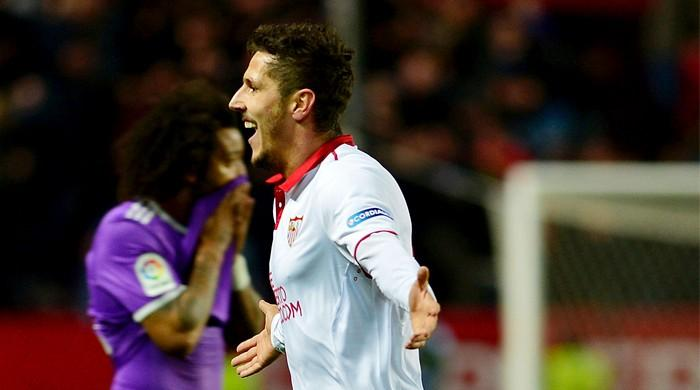 Sevilla late show ends Madrid´s 40-game unbeaten run