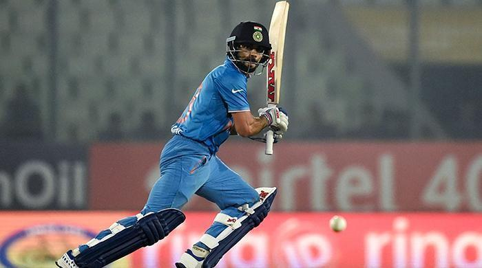 Kohli equals Sachin's record for most centuries while chasing