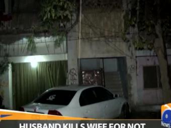 Special Report - Husband kills wife for not permitting him second marriage 16-January-2017