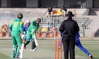 Haris Sohail knocks half century to level series against Malaysia