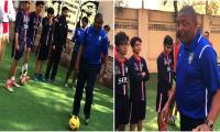 Brazilian football coach arrives in Karachi to train youngsters