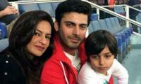 Fawad, Sadaf share their newborn baby girl's picture...and we are smitten!