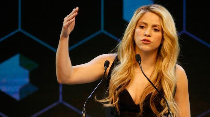 When singer-activist Shakira sang at WEF