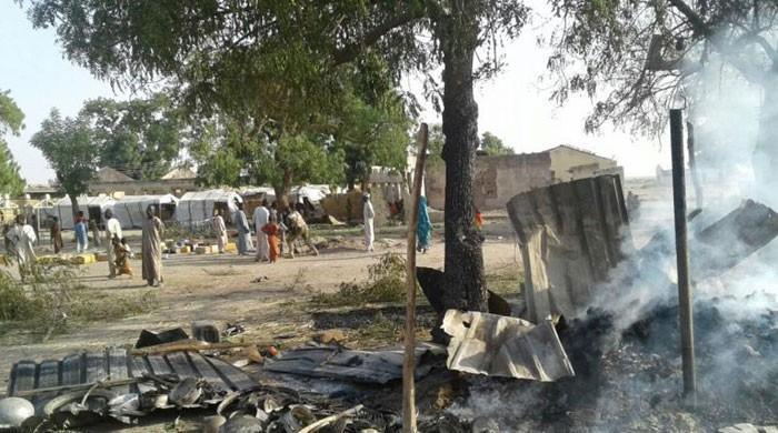 Nigerian air force kills 52 in strike on refugee camp: MSF