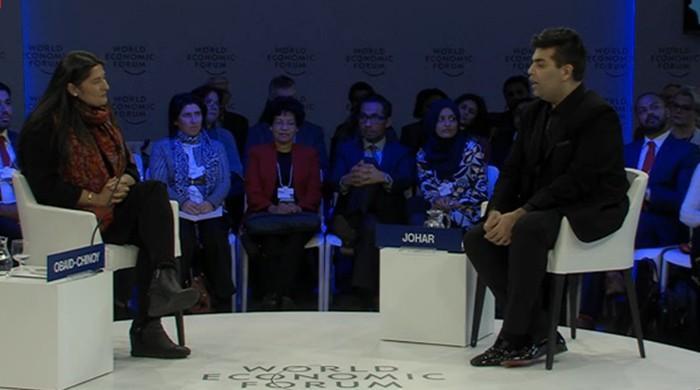 Unmoderated & Uncensored: Sharmeen Obaid Chinoy and Karan Johar at WEF