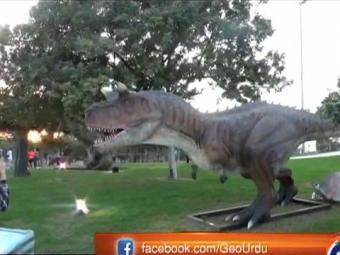 Special Report -Dinosaur Park at Dubai Garden Glow 18-January-2017