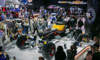 Chevy showcases full-size Batmobile made from lego bricks