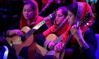 An all woman female orchestra from Afghanistan will perform at WEF
