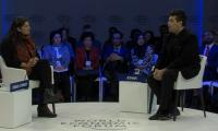Unmoderated & Uncensored: Sharmeen Obaid Chinoy and Karan Johar at WEF