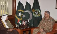 UAE ambassador meets COAS, appreciates role of Army