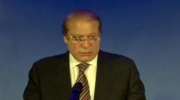 Nawaz at WEF: eliminated terrorist safe havens in two years