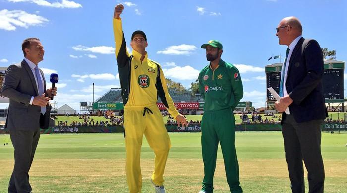 Australia win toss, bowl against Pakistan in third ODI