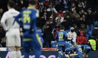 Celta inflict shock Cup defeat on Real Madrid
