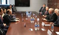 Zardari meets US politicians in Washington