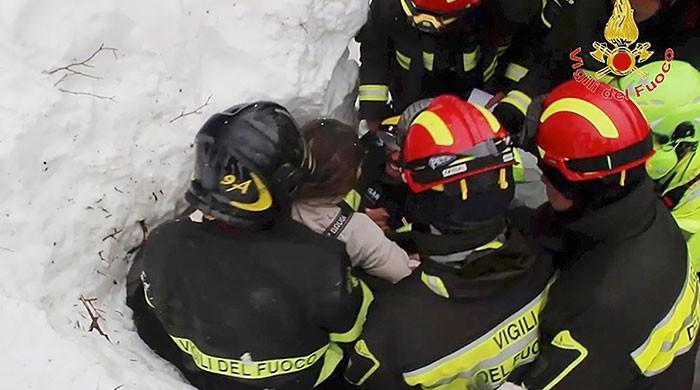 Children saved in Italy avalanche hotel miracle