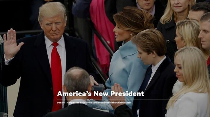 The Donald Trump era begins